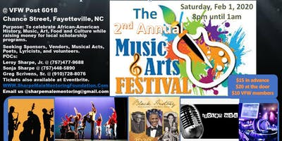 """The 2nd Annual """"Music & Arts"""" Festival 2k20"""