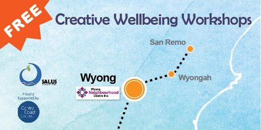 FREE Creative Wellbeing Workshop Visual Art