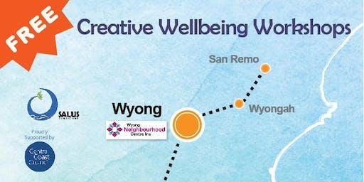 FREE Creative Wellbeing Workshop Visual Art