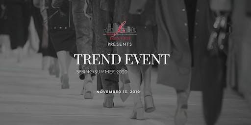 Fashion Group Denver Trend Event Spring/Summer 2020