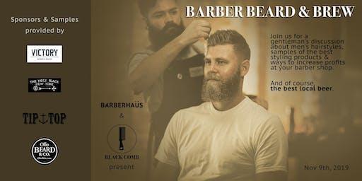 Barber Beard & Brew at Hopkins Brewing Company