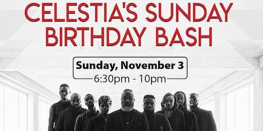 The Katz Downstairz presents: Celestia's Sunday Birthday Bash