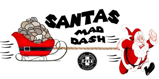 Santa's Mad Dash 5k Fitness Obstacle Course