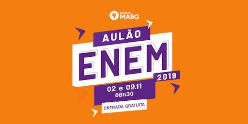 Aulão Pré-ENEM (09/11)