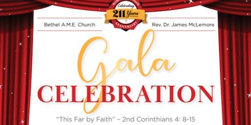 Bethel AME Church 211th Anniversary  Gala Celebration