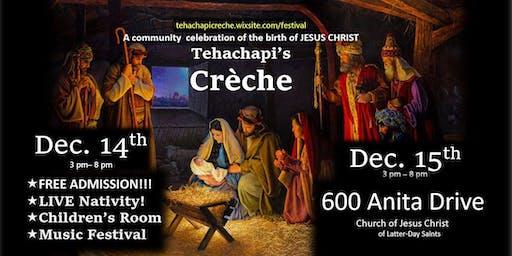 Tehachapi Creche Festival