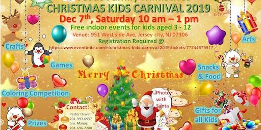 Christmas kids carnival 2019