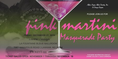 Pink Martini Masquerade Party tickets