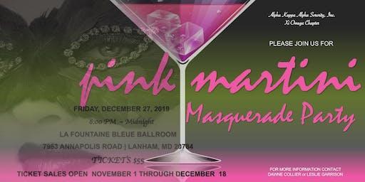 Pink Martini Masquerade Party
