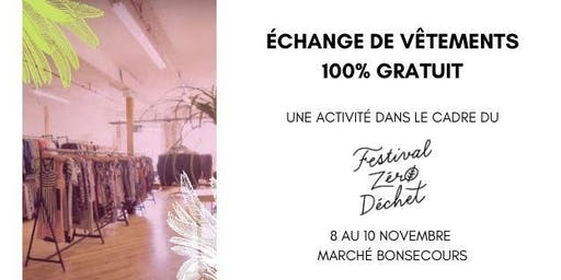 Prêt-à-échanger, un Pop-Up