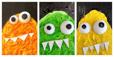 SPECIAL OFFER- 50% OFF! Marvelous Messy Monster Workshop (18 Months-6 Years)