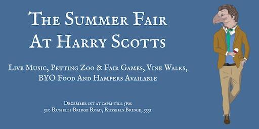 The Summer Fair At Harry Scotts
