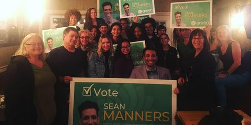 Election night viewing party With Sean Manners!