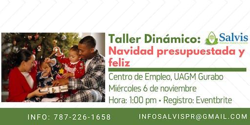 Navidad Presupuestada y Feliz: El Taller