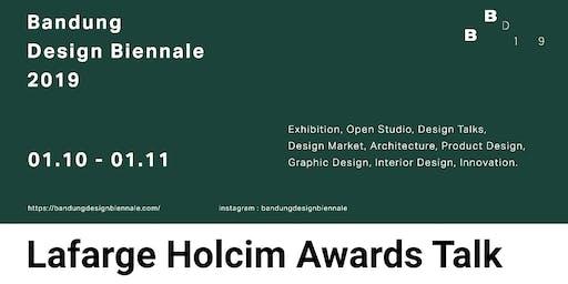 Lafarge Holcim Awards Talk Bandung