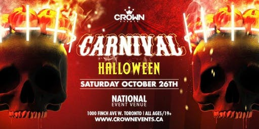 All Ages Halloween at National Centre // Toronto's Biggest All Ages Party