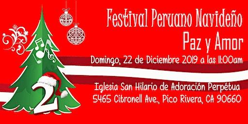 2do Festival Peruano Navideño Paz y Amor