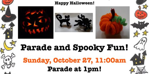 Halloween Parade and Spooky Fun!