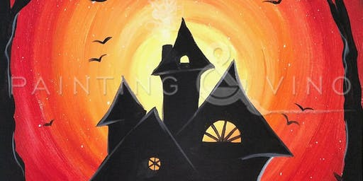 'Spooky Lane' Paint and Sip Event