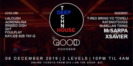 Deep Techno House #001 tickets