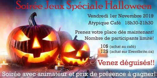 Soirée jeux spéciale Halloween