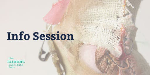 The MIECAT Institute Information Session - 30th October