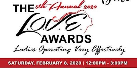2020 5th Annual L.O.V.E. Awards tickets