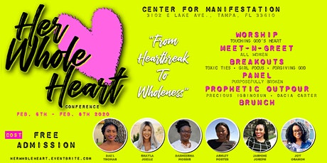 Her Whole Heart Conference: From Heartbreak to Wholeness tickets