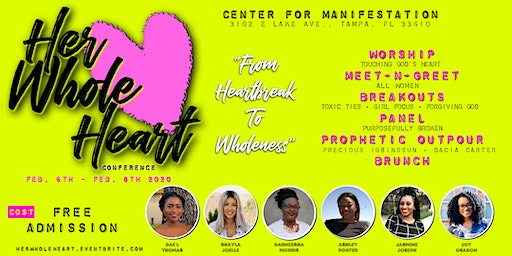 Her Whole Heart Conference: From Heartbreak to Wholeness