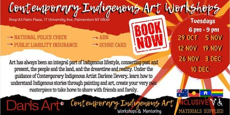 Contemporary Indigenous Art Workshops tickets