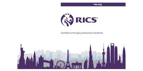 [M]: RICS APC Information Session (Nov 2019) tickets