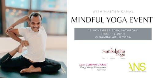 Mindful Yoga Event | Lorna Jane x SambalaBhu Yoga x ANS