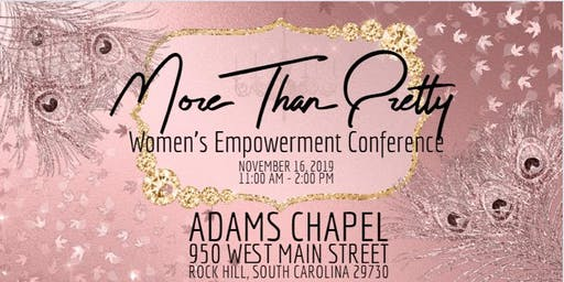 Women's Empowerment Conference: More Than Pretty