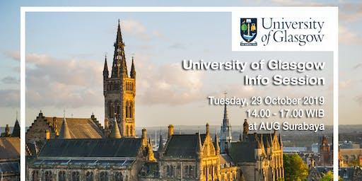 University of Glasgow Info Session
