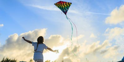Kite flying is fun! Build, decorate and fly your own kite -  6 to 10 years