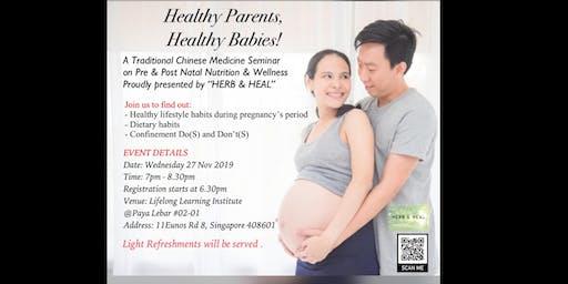 Healthy Parents, Healthy Babies!