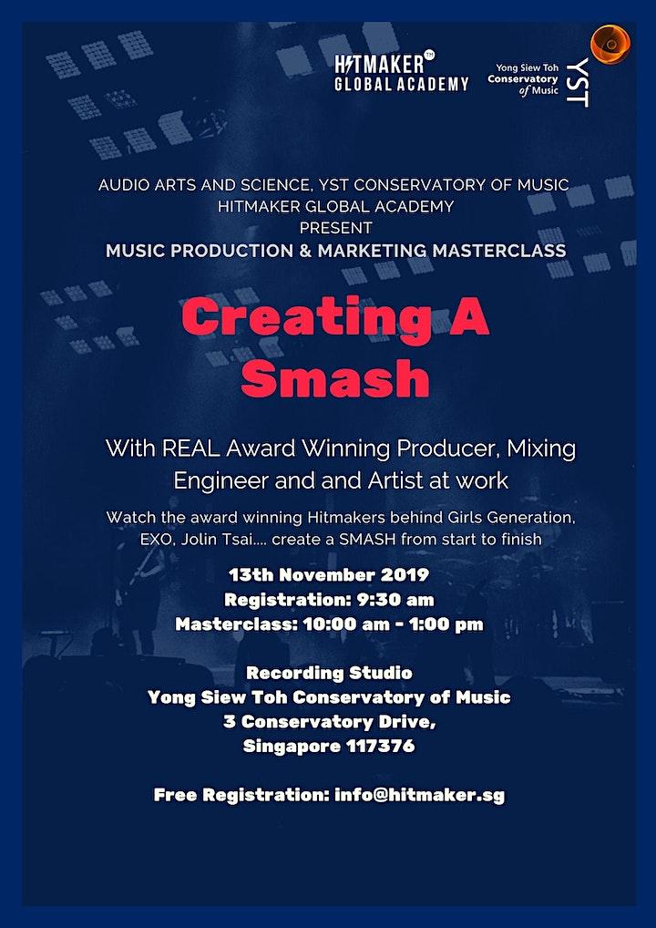 Music Live Production & Marketing Masterclass image