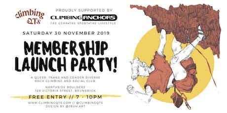 ClimbingQTs Membership Launch Party tickets