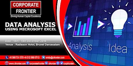 Data Analysis Using Microsoft Excel tickets