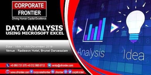 Data Analysis Using Microsoft Excel