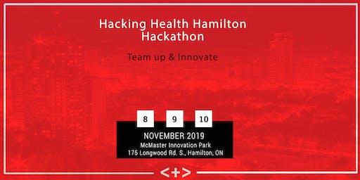 Hacking Health Hamilton | Hackathon 2019