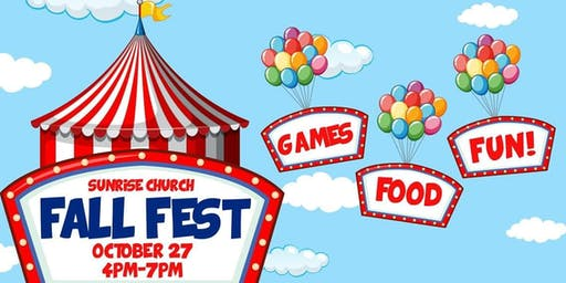 Sunrise Church Free  Fall Fest