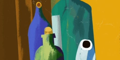 Still-Life Painting Workshop. This event is relaxing and fun!