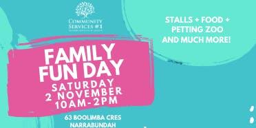 CS#1 Family Fun Day Activity Hand