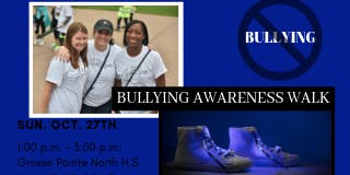 """Bully Awareness Walk  - """"Walk 4 a Mile in My Shoes"""""""