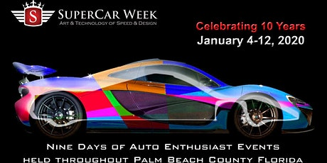 SUPERCAR WEEK GRAND FINALE WPB WATERFRONT tickets