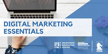 [CANCELLED WORKSHOP] Digital Marketing Essentials - Whitehorse tickets