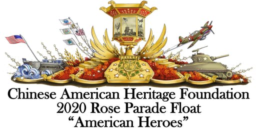 "Help build the CAHF 2020 Rose Parade ""American Heroes"" Float"