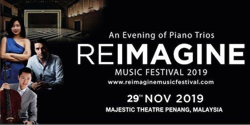 Reimagine Music Festival : An Evening of Piano Trios