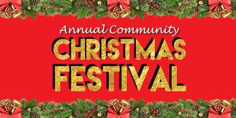 Free Christmas Festival tickets
